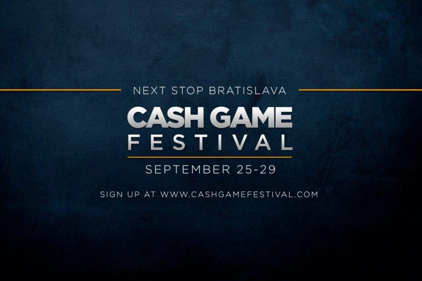 Cash Game Festival Bratislava 25-29/9