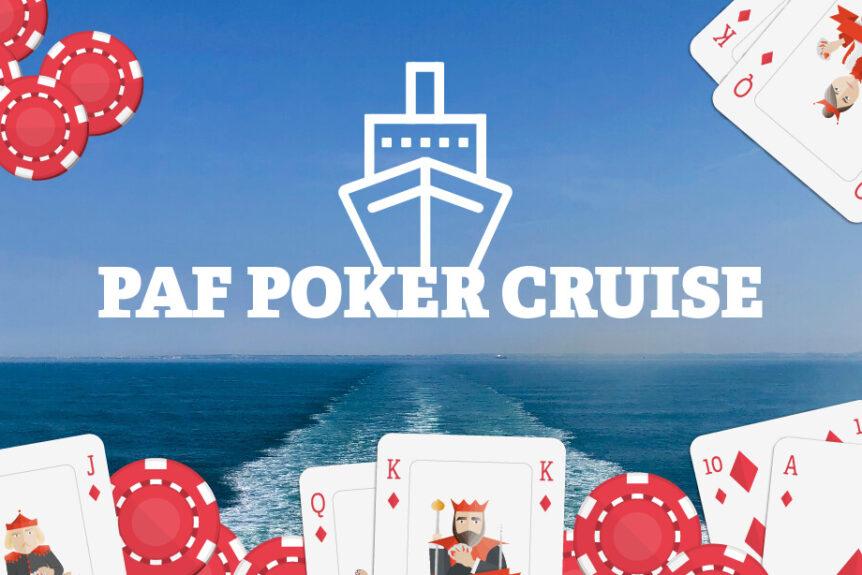 Vinn paket för 2 till Paf Poker Cruise