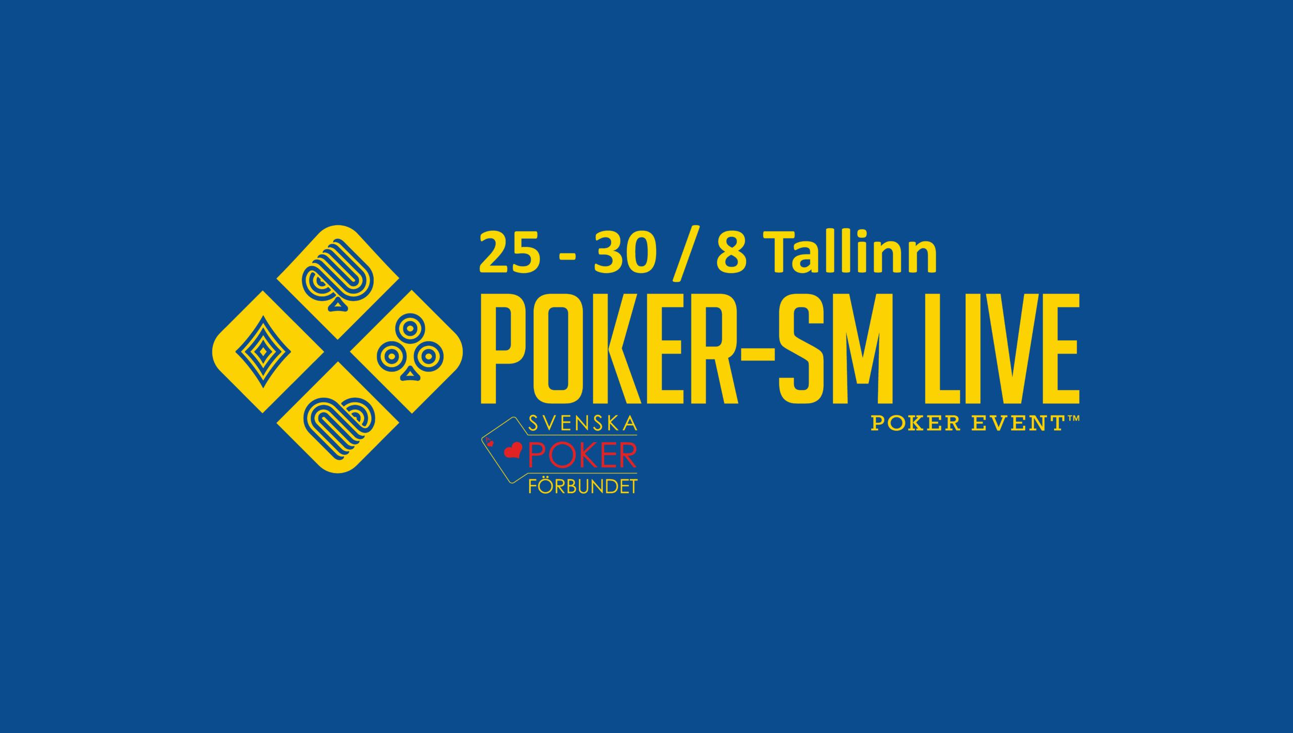 Poker-SM åter till Tallinn 2020