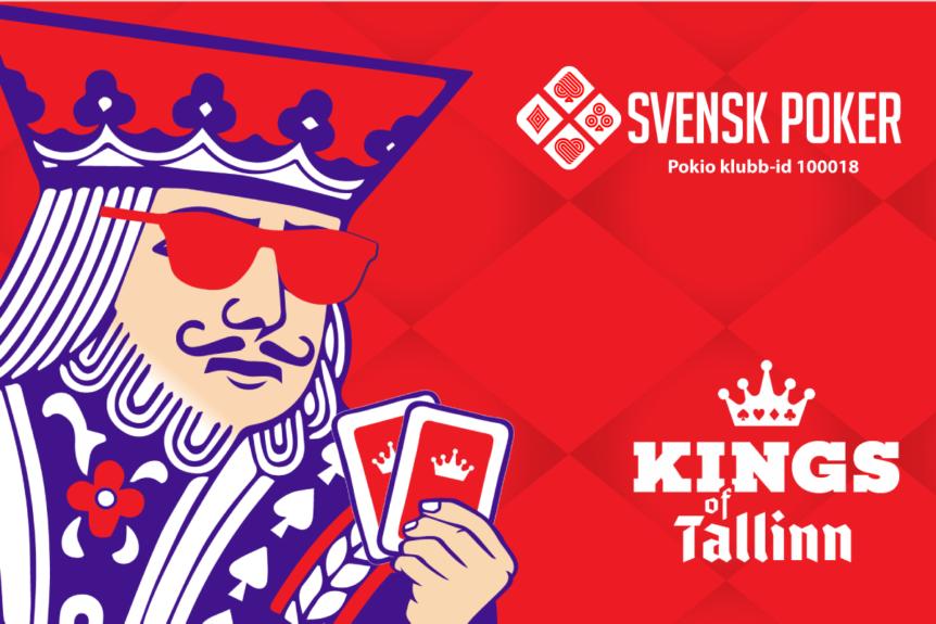 Svensk Poker partner till Kings of Tallinn