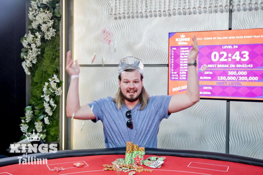 Johan Karlsson vinner Kings of Tallinn!