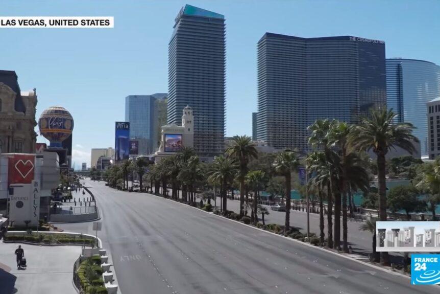 Las Vegas liknar en spökstad