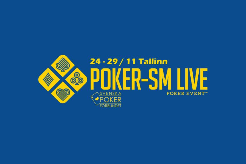 Poker-SM Live 2020 flyttas till november
