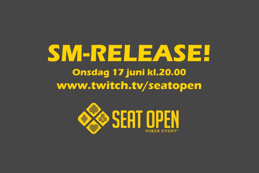 SM-release onsdag kl.20.00